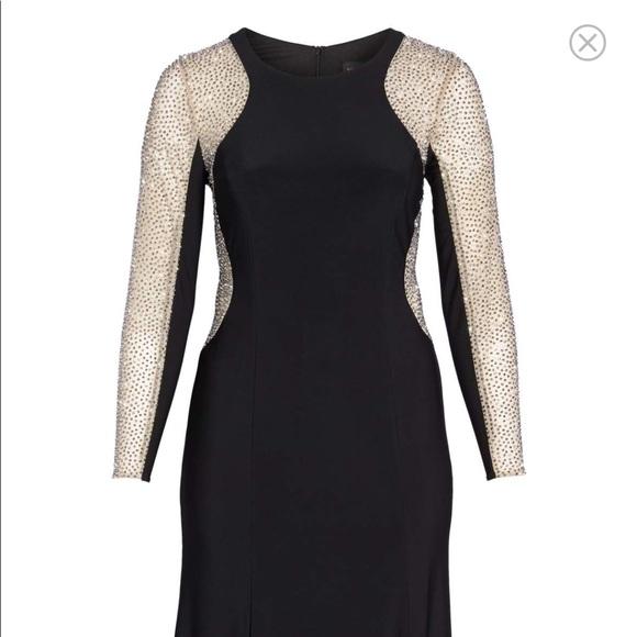 de25497ed6fc Xscape Dresses | Embellished Jersey Gown Size 20 | Poshmark
